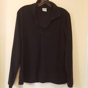Columbia fleece 1/4 Zip pullover size Large